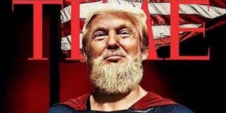 Le fils de Donald Trump devient la risée du web avec ce montage sur son père - La Libre