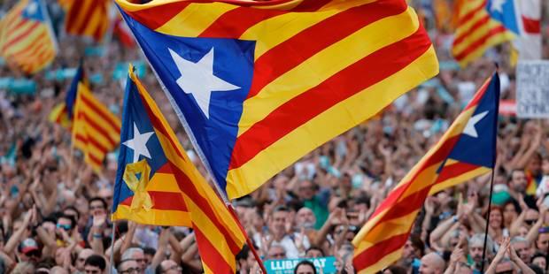 En Catalogne, les indépendantistes se préparent avant une semaine décisive - La Libre
