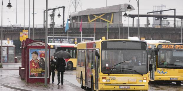 Marche des solidarités: Le réseau TEC perturbé à Liège et dans le Hainaut, entre 10 et 30% des bus à Charleroi - La Libr...