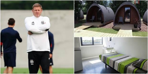 Anderlecht : Vanhaezebrouck veut faire dormir ses joueurs dans des containers - La Libre