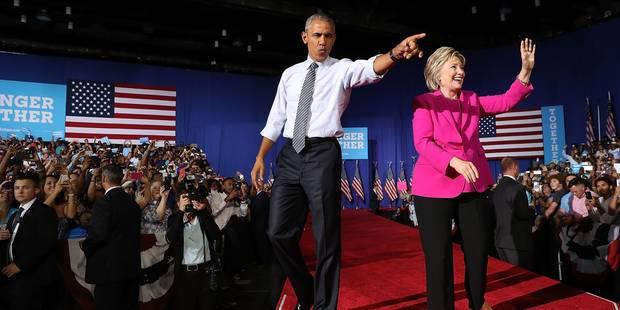 USA: les républicains lancent deux enquêtes visant Obama et Hillary Clinton - La Libre