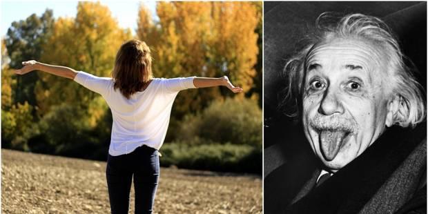 Appel à témoignages: Einstein avait trouvé le secret du bonheur. Et vous? - La Libre