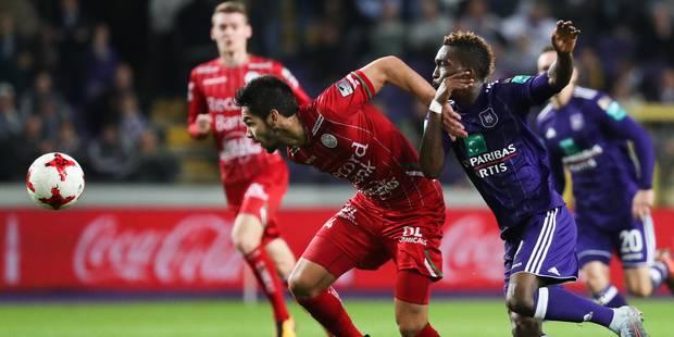 Anderlecht gaspille mais s'impose contre un Zulte-Waregem dangereux (2-0) - La Libre