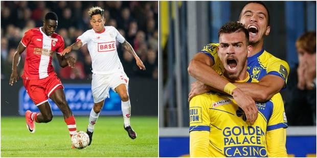 Football : Match nul du Standard à l'Antwerp, Saint-Trond, nouveau deuxième au classement après sa victoire contre Mousc...