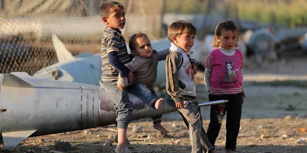 """L'ONU """"choquée"""" par les photos d'enfants squelettiques en Syrie - La Libre"""