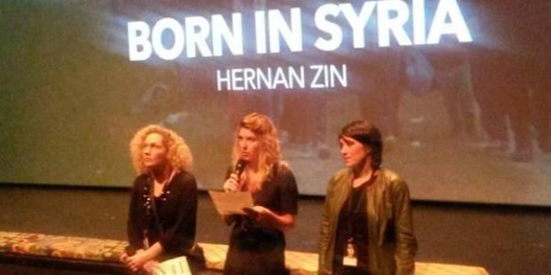 """Le documentaire """"Born in Syria"""" récompensé du grand prix du festival des libertés - La Libre"""
