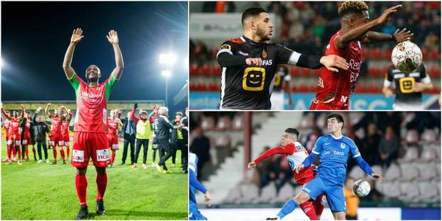 Pro League: Zulte-Waregem retrouve le top 6, Ostende se donne de l'air, Genk partage et Malines n'y arrive toujours pas ...