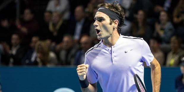 ATP Bâle: Federer réalise le grand huit à domicile et déclare forfait pour Paris-Bercy - La Libre