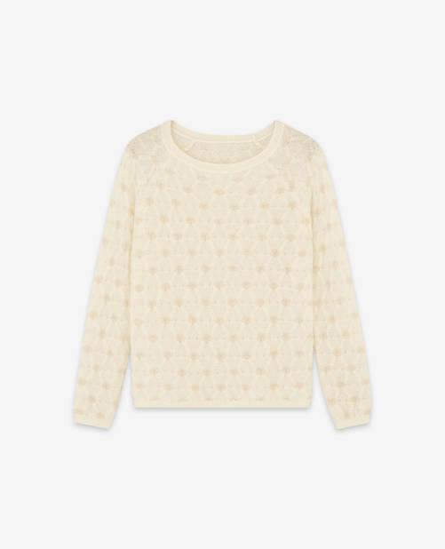 Pull crochet, Comptoir des Cotonniers, 165€