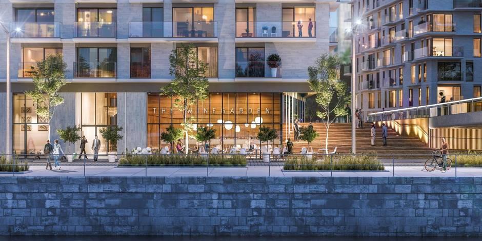 Tour&Taxis : Voici Riva, le nouveau grand projet résidentiel (Photos) - La Libre