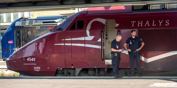 Agression armée dans un train Thalys: Deux personnes placées sous mandat d'arrêt - La Libre