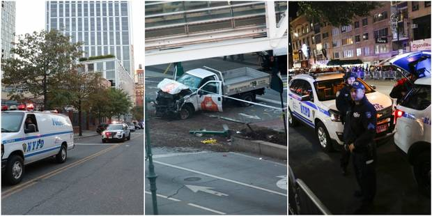 Un conducteur fou tue des cyclistes à Manhattan : 8 morts dont une Belge, trois Belges blessés (VIDEOS et PHOTOS) - La L...