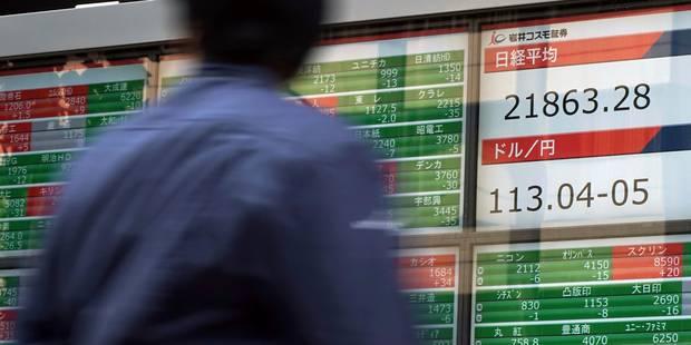La Bourse de Tokyo finit sur un bond de 1,86%, au plus haut depuis juillet 1996 - La Libre
