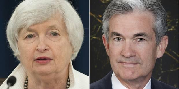 Le gouverneur Jerome Powell informé par Trump de sa nomination à la tête de la Fed - La Libre