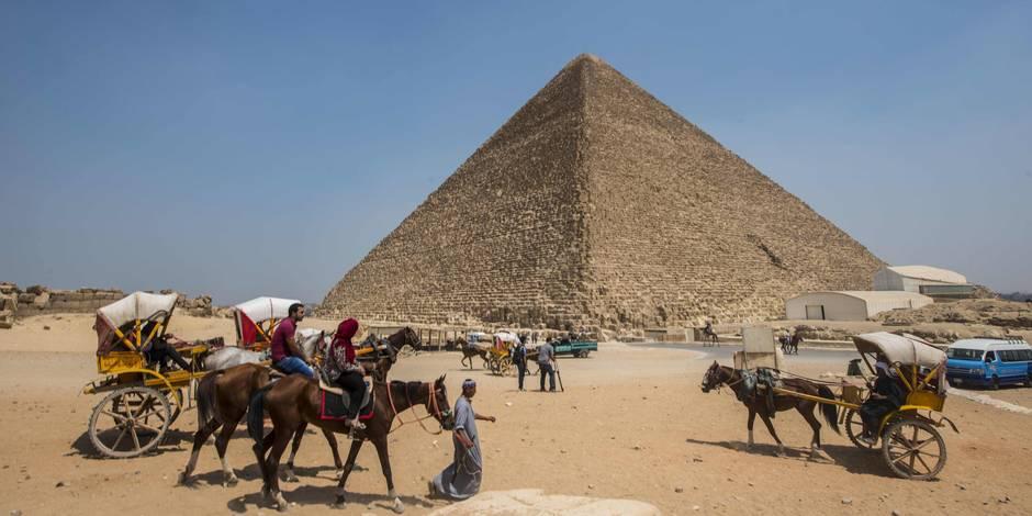 Une cavité de la taille d'un avion découverte dans la pyramide de Khéops