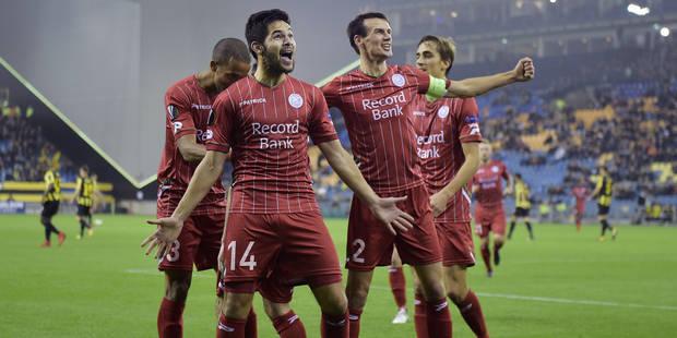 Europa League: Zulte Waregem l'a jouée intelligente face à Vitesse Arnhem (0-2) - La Libre