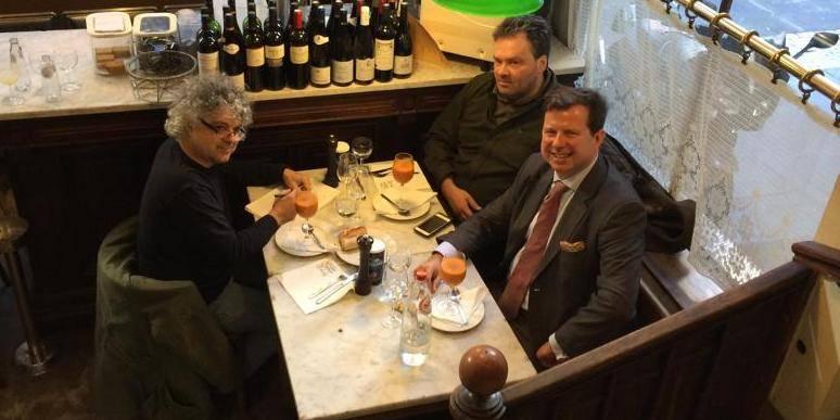 Lunch with... Thibault de Barsy, CEO de Keytrade Bank Luxembourg - La Libre