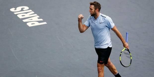 Paris-Bercy: victoire de l'Américain Jack Sock, dernier qualifié pour le Masters - La Libre
