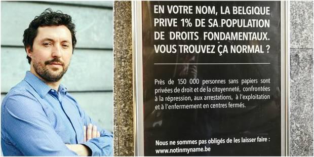 """Opération citoyenne choc contre la politique migratoire: """"Ce genre de buzz joue avec la légalité"""" - La Libre"""