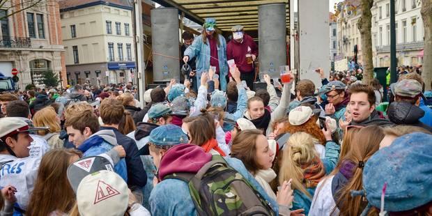 Bruxelles: la Saint-Verhaegen change de thème pour celui de la solidarité avec les migrants - La Libre