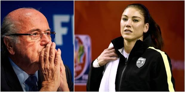 """Sepp Blatter juge """"ridicule et absurde"""" l'accusation d'agression sexuelle qui le vise - La Libre"""