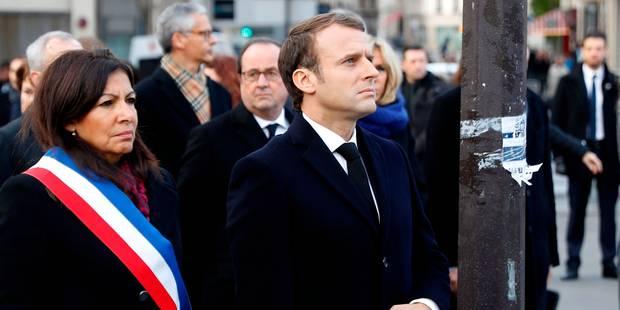 France: Macron rend hommage aux victimes des attentats du 13 novembre 2015 - La Libre