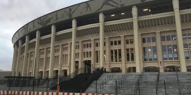 Mondial 2018 en Russie: pluie de critiques autour du stade qui accueillera la finale - La Libre