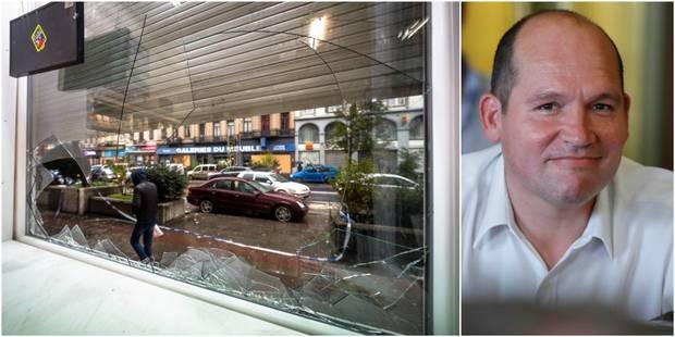 Emeutes à Bruxelles: DéFI réclame les explications du bourgmestre sur les mesures prises - La Libre