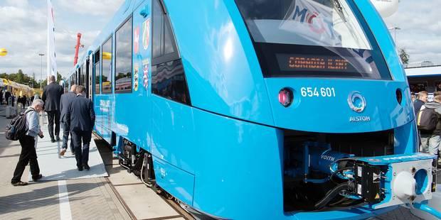 Alstom vend un train à hydrogène dans la ville de Volkswagen - La Libre