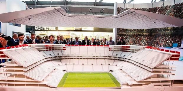 """""""Si l'eurostadium ne pouvait être prêt à temps pour l'Euro 2020, il serait tout de même construit"""" - La Libre"""