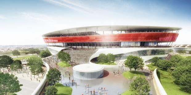 Ghelamco promet de construire le stade national en moins d'un an, le centre de Tubize va s'agrandir - La Libre