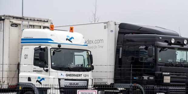 Plusieurs agressions commises sur des chauffeurs de camion, deux suspects interpellés - La Libre
