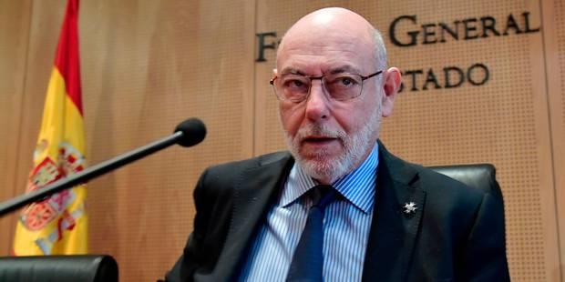 Espagne: mort du procureur général qui poursuivait les indépendantistes catalans - La Libre