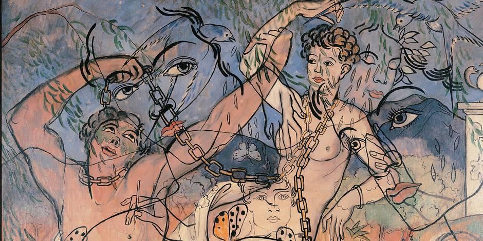 Deux écritures pour un portrait de Gabriële Picabia