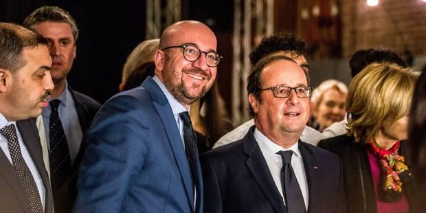 """Un jeune Molenbeekois à François Hollande: """"Les piliers de l'islam, c'est sacré"""" (PHOTOS + VIDEO) - La Libre"""