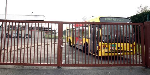 Manifestation TEC à Liège: Aucun bus n'est sorti des dépôts sauf à Eupen et Verviers - La Libre