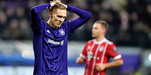 Anderlecht séduit mais s'incline face au Bayern (1-2) - La Libre