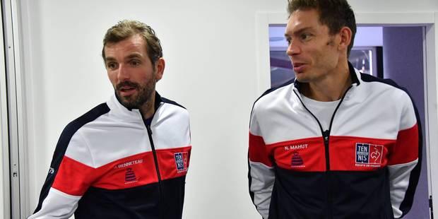 Finale de la Coupe Davis: grosse surprise dans la sélection française, Goffin ouvrira le bal face à Pouille - La Libre