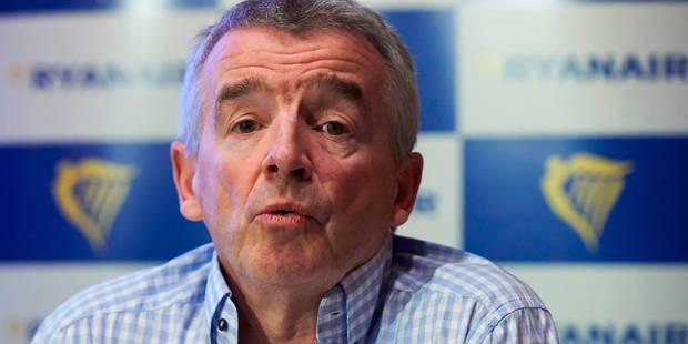 Le patron de Ryanair, Michael O'Leary, s'excuse auprès de Kris Peeters - La Libre