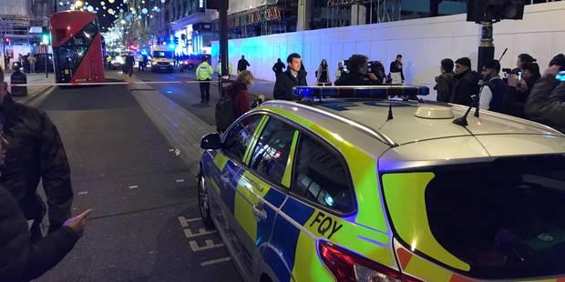 La panique dans le centre de Londres due à une altercation entre deux hommes (PHOTOS + VIDÉOS) - La Libre