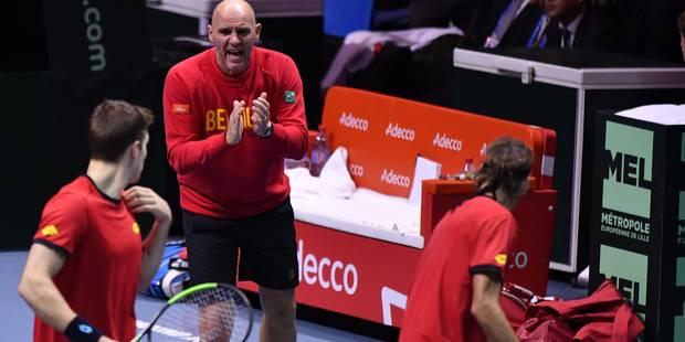 """Johan Van Herck est loin d'être abattu: """"Dimanche sera digne d'une finale de Coupe Davis"""" (VIDEOS) - La Libre"""