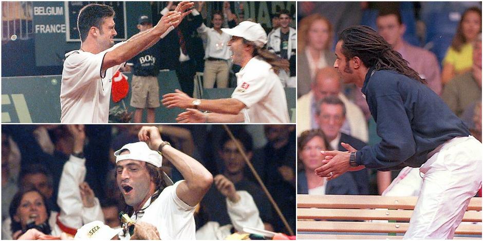 Vingt ans après, et si la Belgique battait de nouveau Noah au cinquième match ? - La Libre
