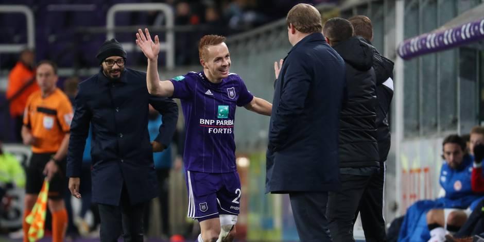 Anderlecht-Courtrai 4-0: Harbaoui alourdit le score (DIRECT)