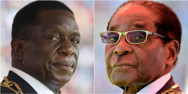 Crise politique au Zimbabwe: le nouveau président dissout le gouvernement Mugabe - La Libre