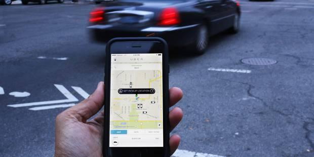 Un chauffeur Uber pris à parti par un taximan bruxellois (VIDEO) - La Libre