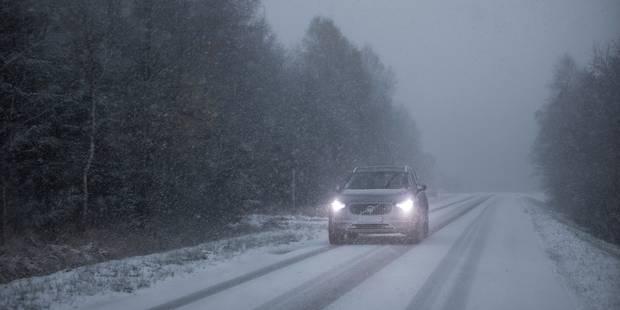 Neige : Fin de la phase de vigilance renforcée sur les routes wallonnes - La Libre