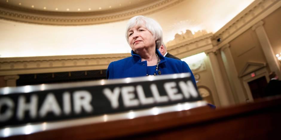 """La patronne de la Fed se dit """"très inquiète"""" de la trajectoire de la dette américaine"""