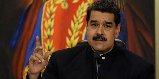 Venezuela: le président Maduro briguera un nouveau mandat en 2018 - La Libre
