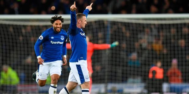 Le but splendide de Rooney avec Everton (VIDEO) - La Libre