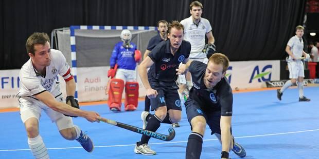 Hockey en salle : l'Amicale Anderlecht prend la tête - La Libre